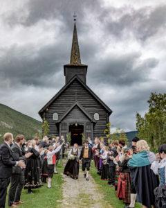 Bryllup i Nord-Sel kirke