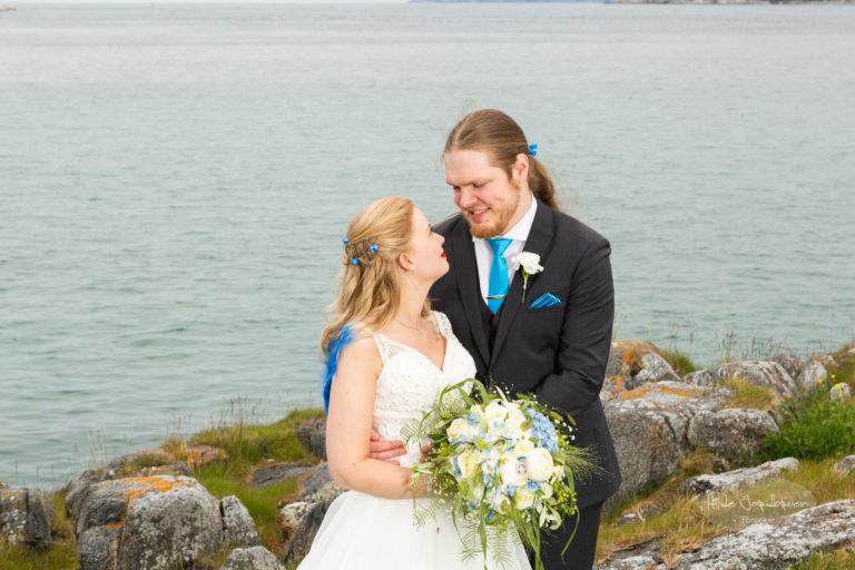 Vi tok mange bilder - og jeg syns det er viktig å få frem kontakten mellom paret