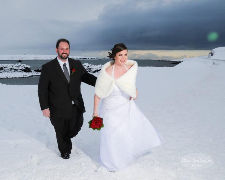 Med Kollafjörður i bakgrunn