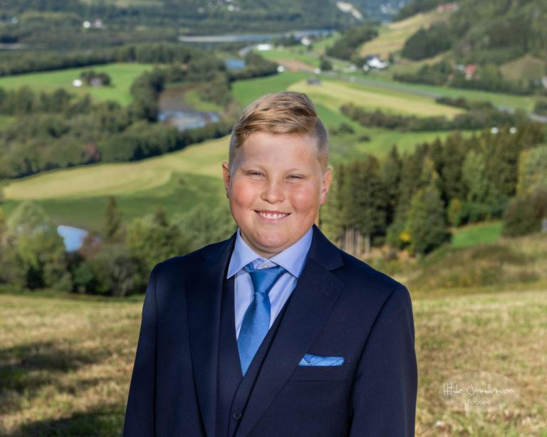 Med fineste utsikta over Fåvang og Gudbrandsdalen i bakgrunn