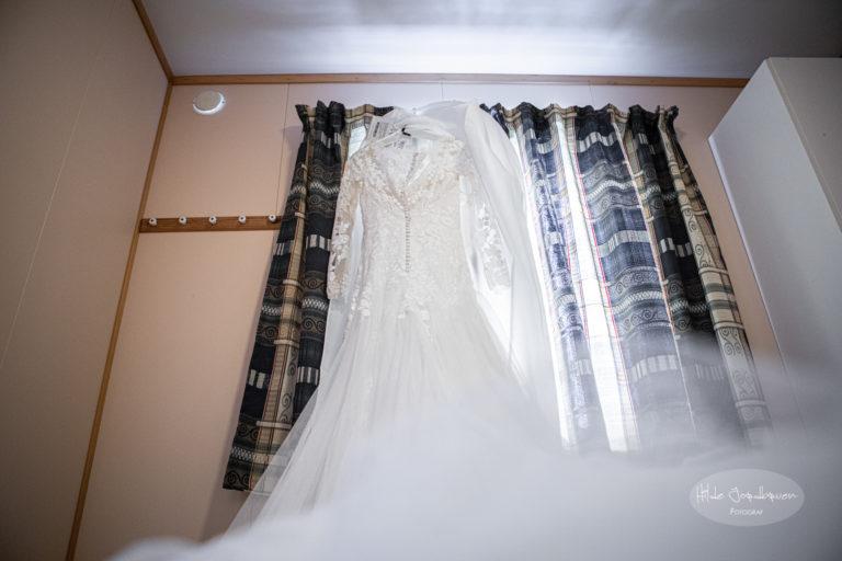 Kjolen henger klar