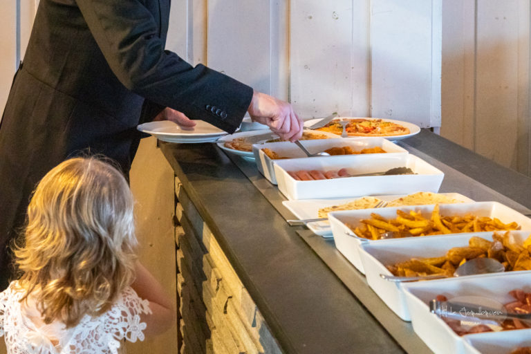Denne digga jeg: barnebuffet til de minste gjestene! Det digga de minste gjestene også!