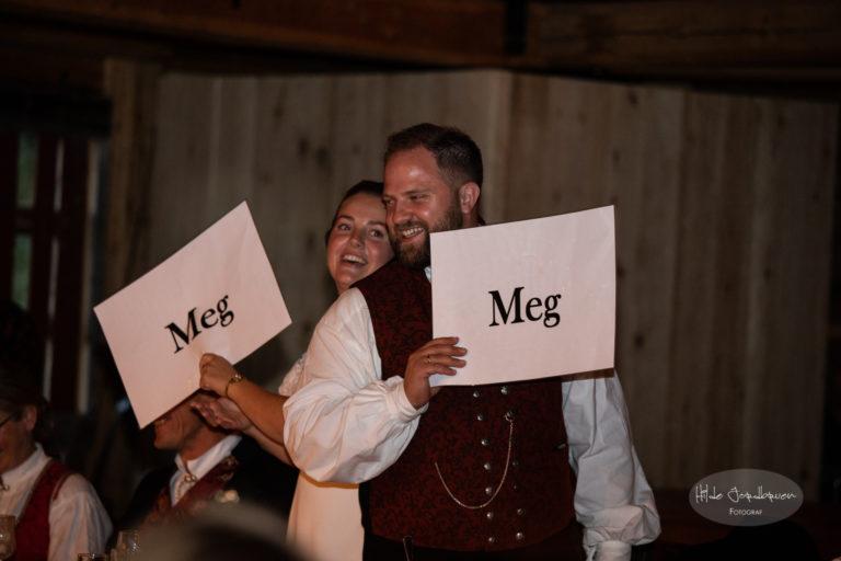 Hvor godt kjenner brudeparet seg selv og partneren? Dette er en populær og veldig gøyal lek, både for par og gjester